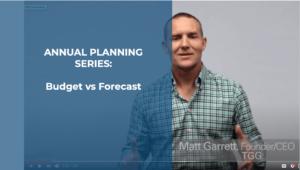 Budget vs Forecast