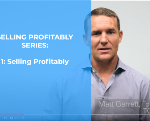 Selling Profitably